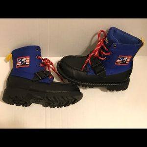 Polo Ralph Lauren toddler boys leather boots